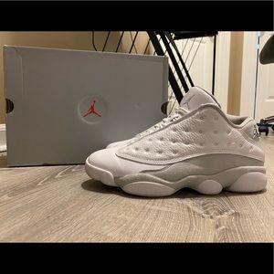 """Air Jordan 13 Low """"Pure Platinum"""""""